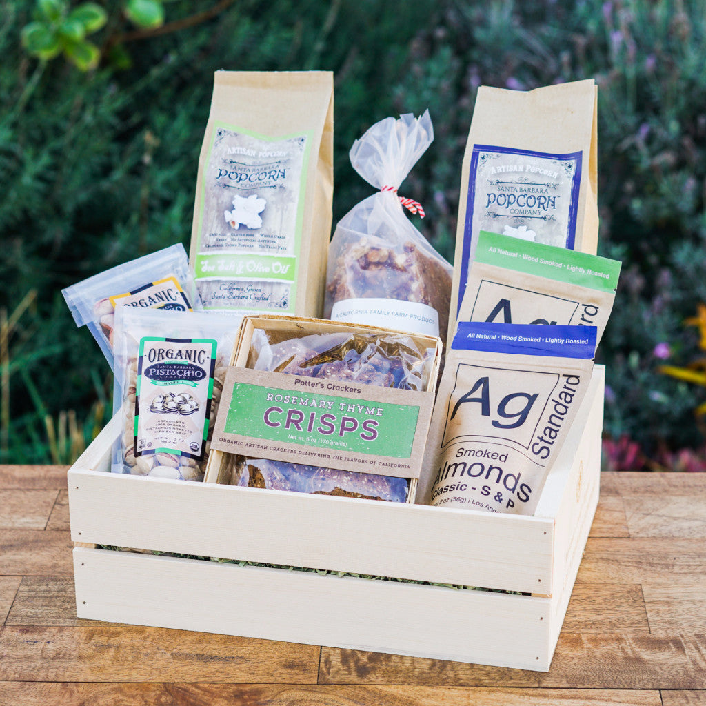 California Snack Crate Gift Sets and Boxes - Assorted/Gifts, The Santa Barbara Company - 1