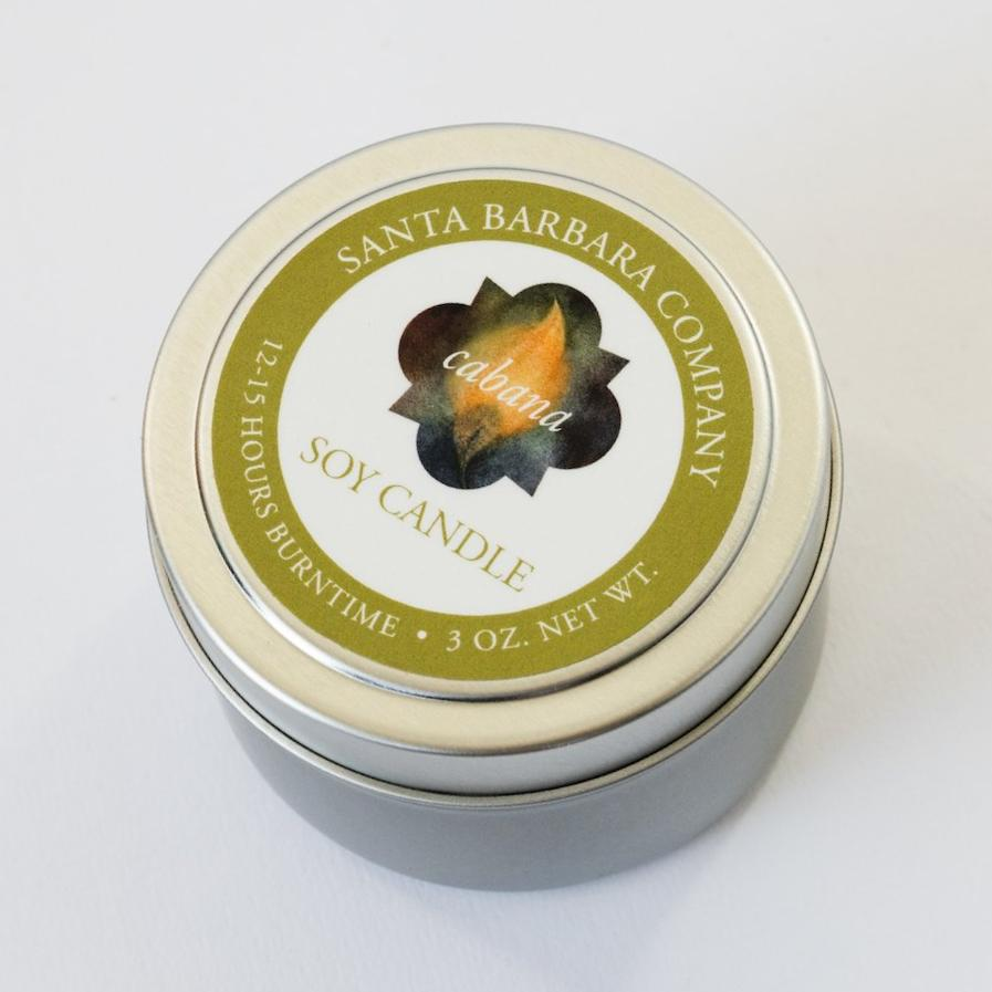 Cabana Soy Travel Candle