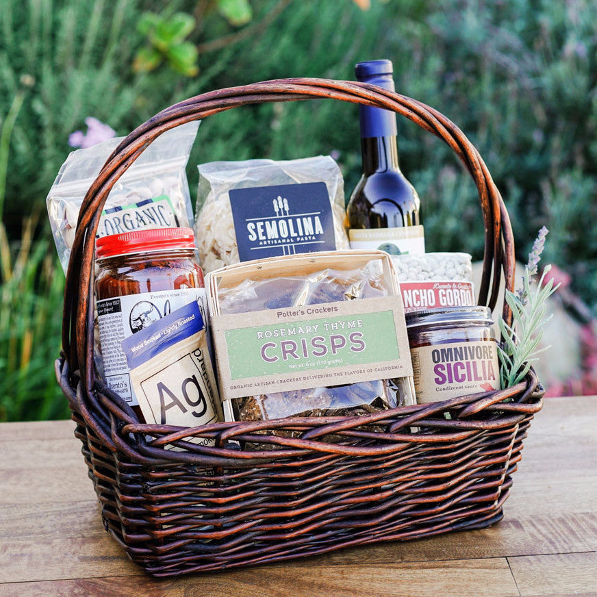 California Chef Artisan Gift Basket Gift Sets and Boxes - Assorted/Gifts, The Santa Barbara Company - 1
