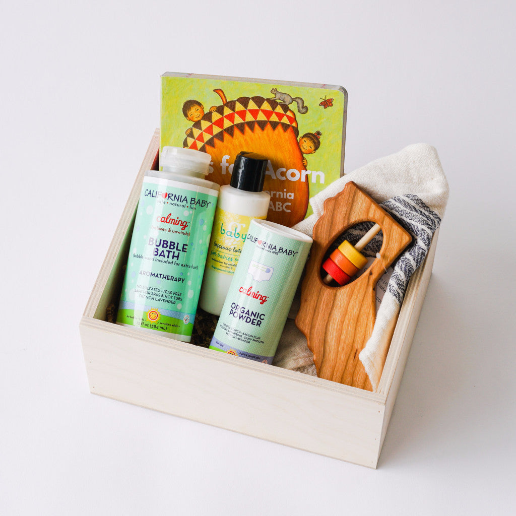 California Baby Gift Box
