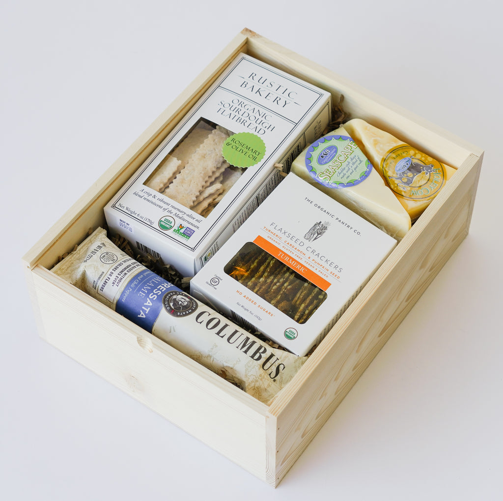 California Cheese & Salami Gift Box