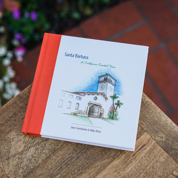 Santa Barbara: A California Coastal Town Books and Music - The Santa Barbara Company, The Santa Barbara Company