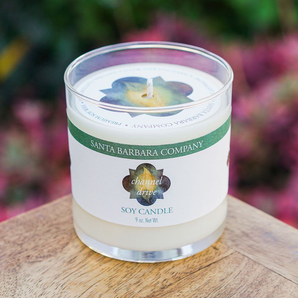 Channel Drive Soy Candle Candles and Home Fragrance - The Santa Barbara Company x Late Harvest, The Santa Barbara Company