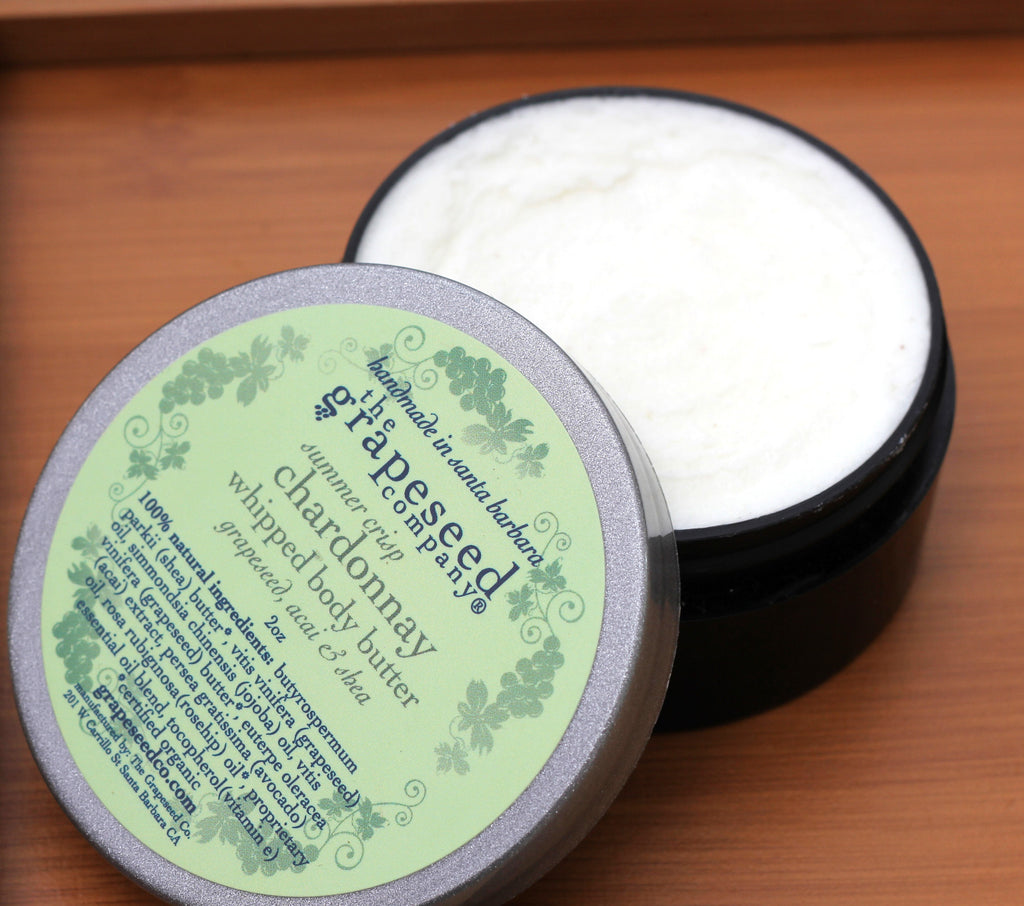Chardonnay Whipped Body Butter Moisturizers and Lotion - The Grapeseed Company, The Santa Barbara Company - 2