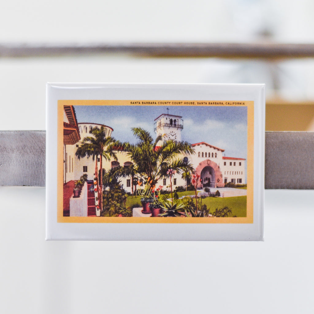 Courthouse of Santa Barbara Magnet Magnets - Found Image, The Santa Barbara Company - 1