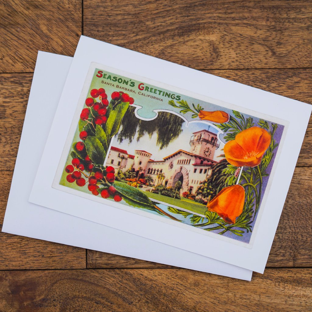 Season's Greetings Courthouse Note Cards