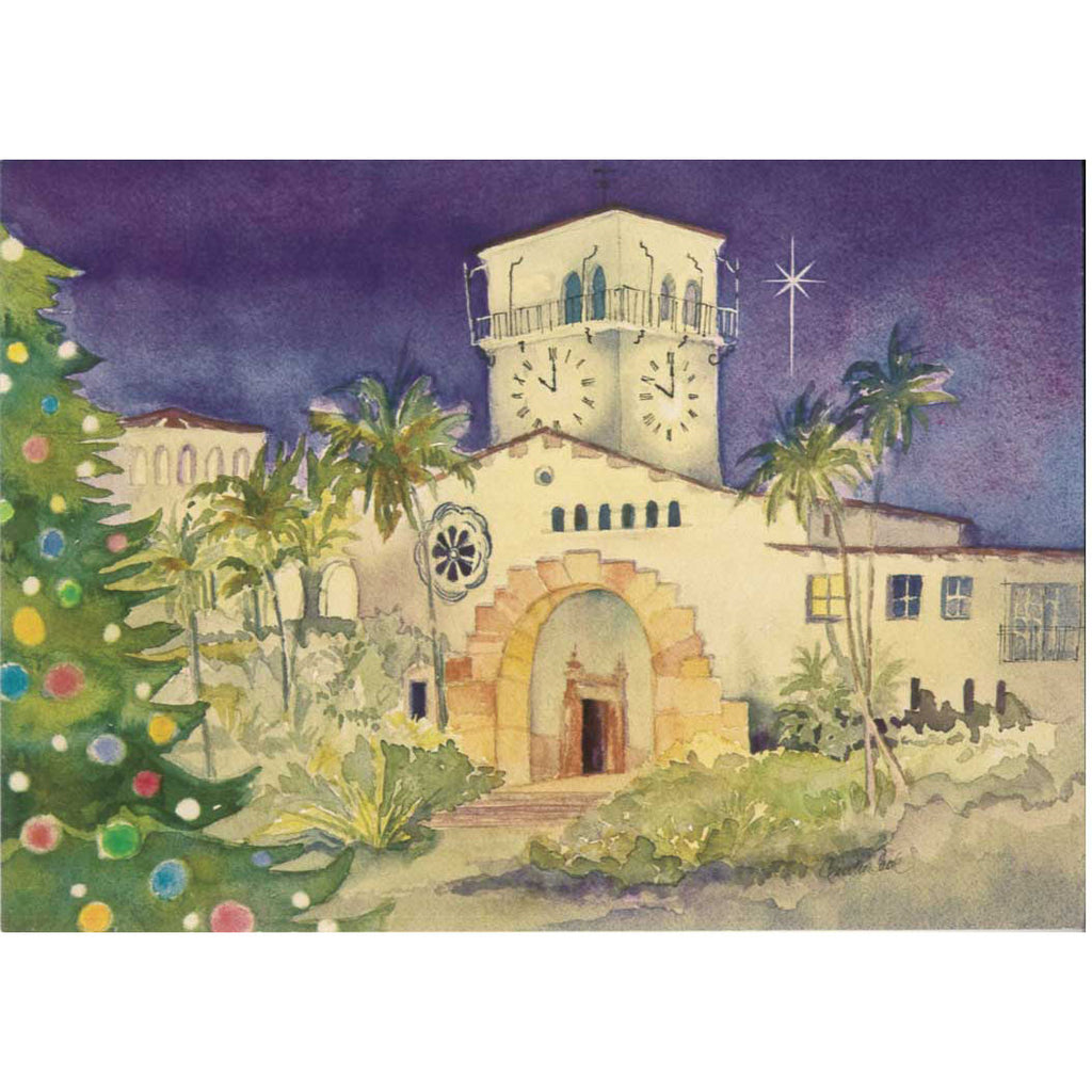 Santa Barbara Courthouse Christmas Cards Christmas/Holidays - Paperstar, The Santa Barbara Company - 2