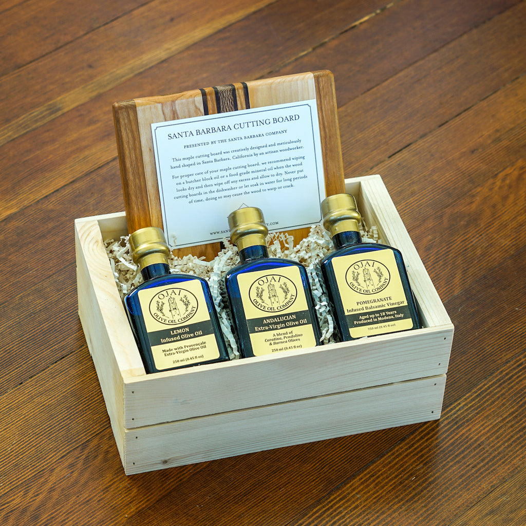 Perfect Ojai Olive Oil Gift Crate Gift Sets and Boxes - Assorted/Gifts, The Santa Barbara Company - 2