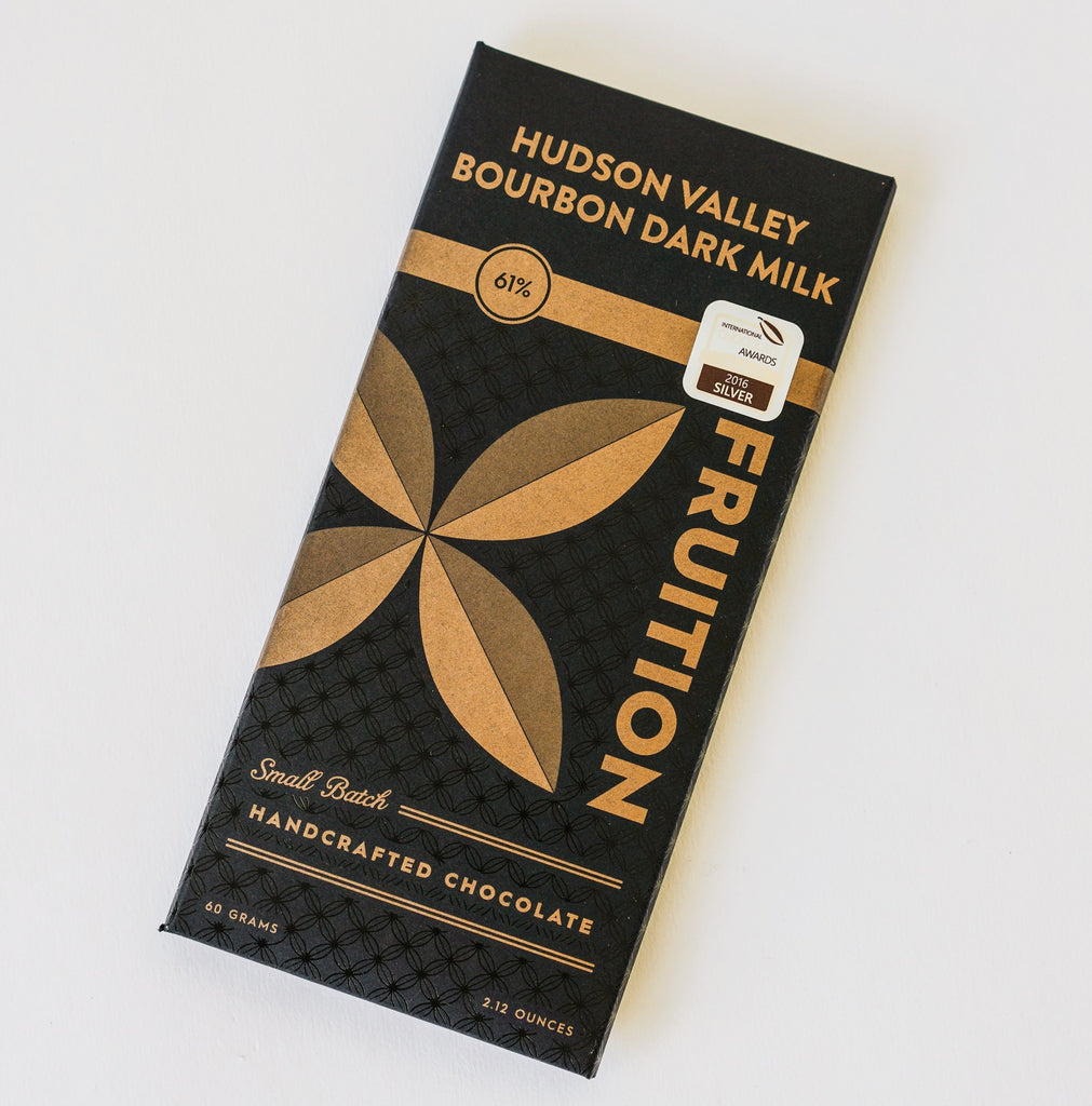 Hudson Valley Bourbon Dark Milk Chocolate