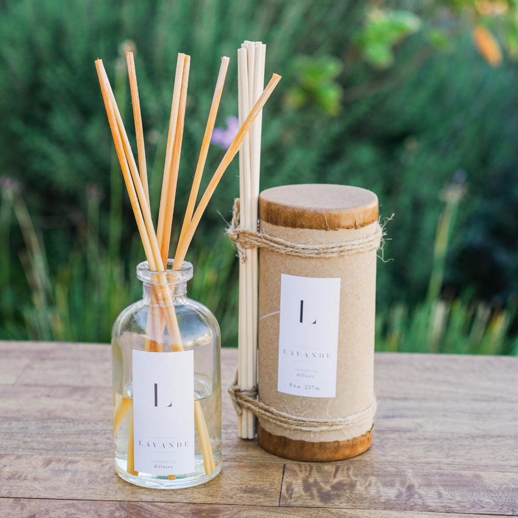 Lavande Farm Lavender Diffuser Candles and Home Fragrance - Lavande Farm, The Santa Barbara Company - 1