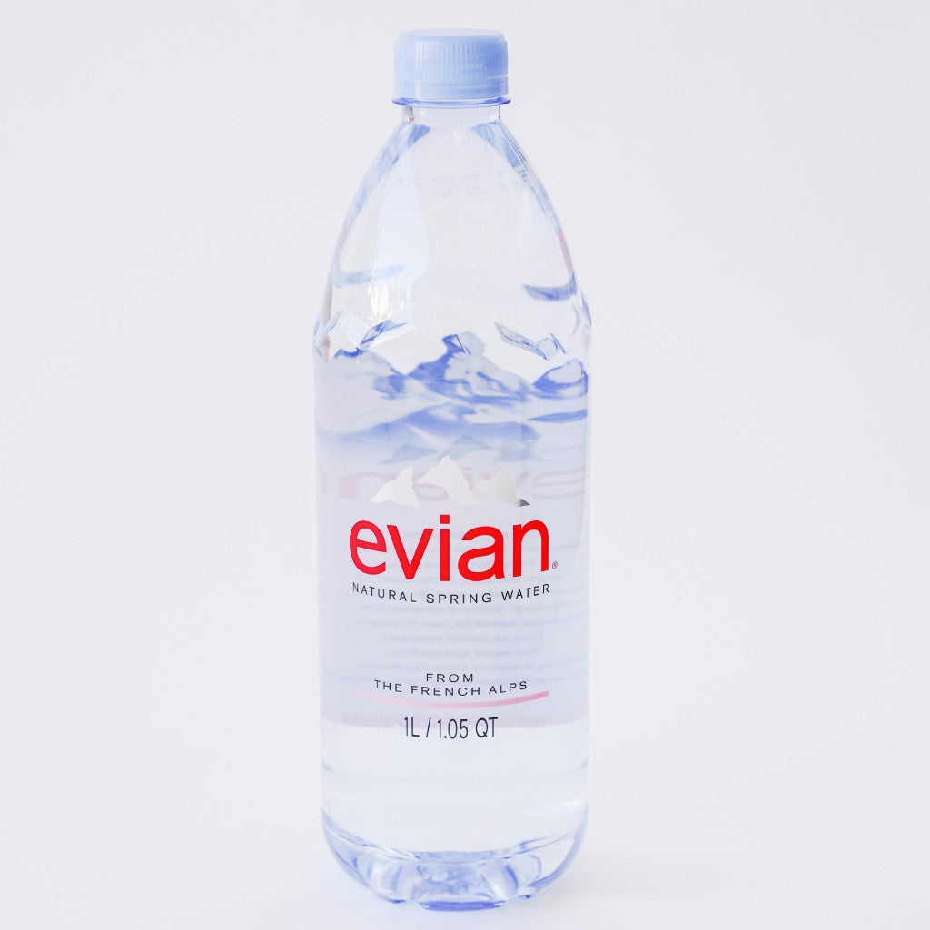 Evian Natural Spring Water (1L)
