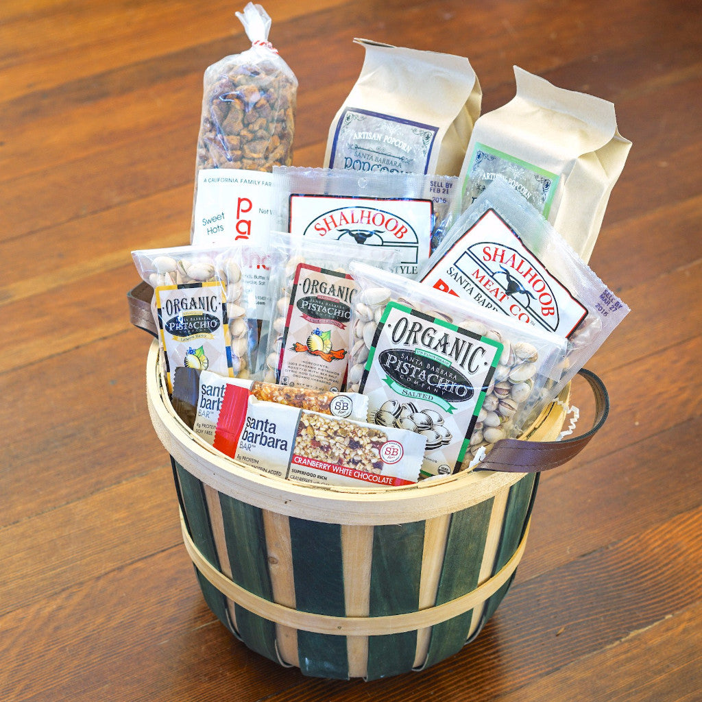 Santa Barbara Farm Snacks Gift Basket Gift Sets and Boxes - Assorted/Gifts, The Santa Barbara Company