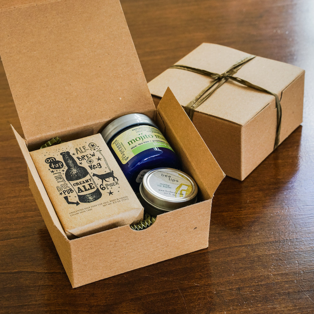 Creamy Ale Gift Box Gift Sets and Boxes - Assorted/Gifts, The Santa Barbara Company - 1