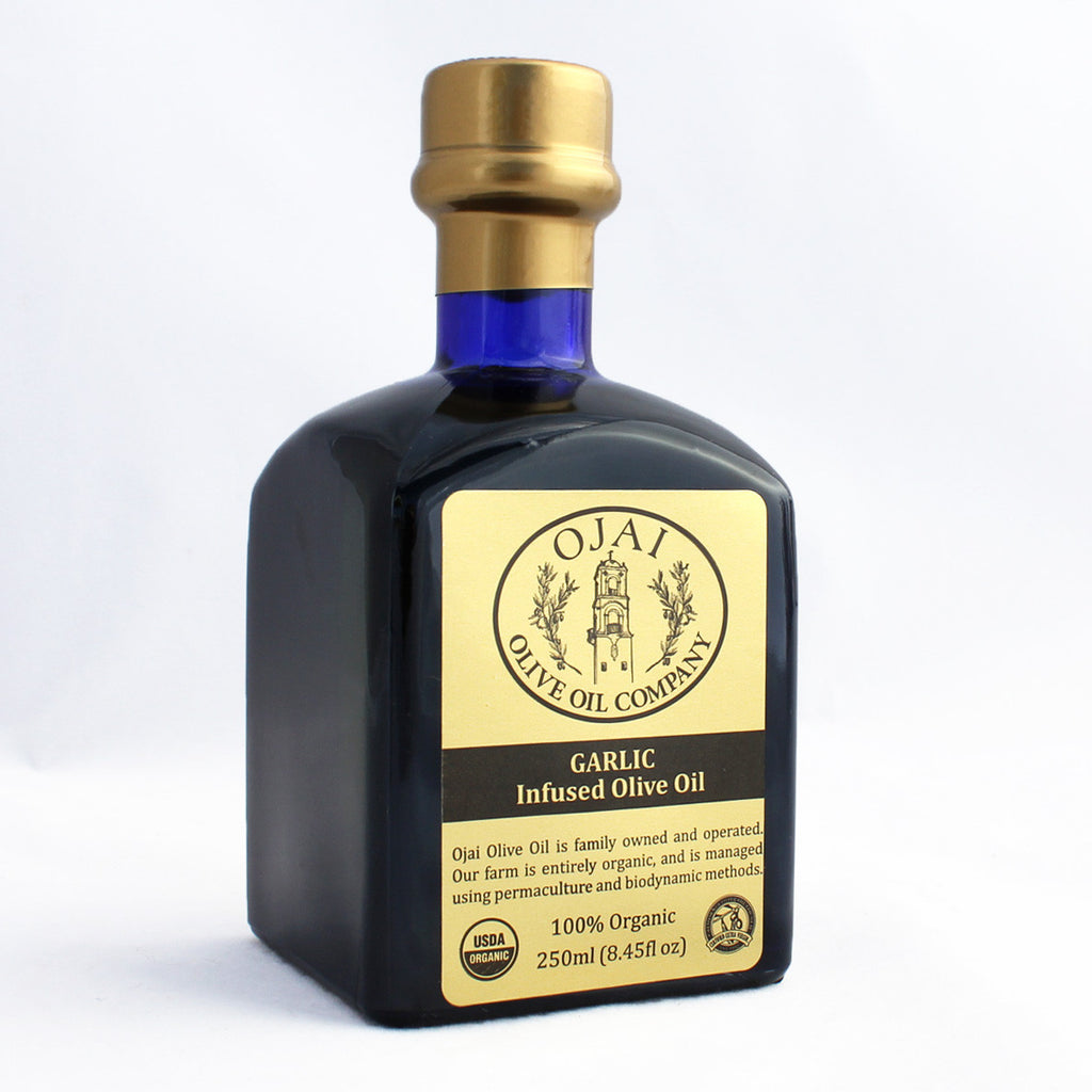Garlic Olive Oil Oils and Vinegars - Ojai Olive Oil, The Santa Barbara Company - 1
