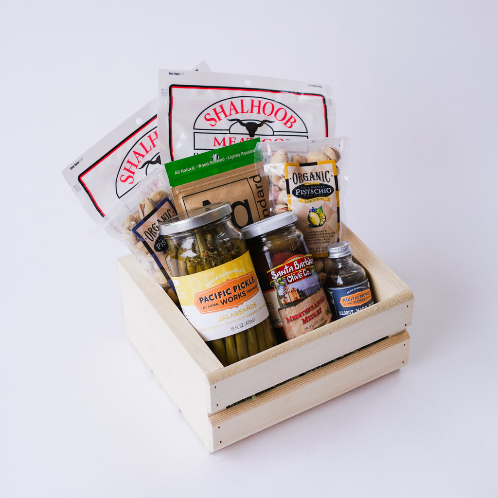 Jerky and Snacks Gift Crate