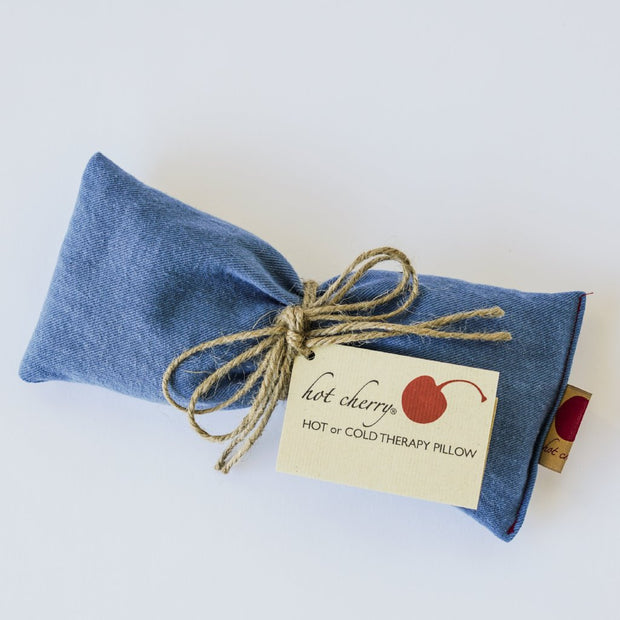 Hot Cherry Therapeutic Eye Pillow - Blue