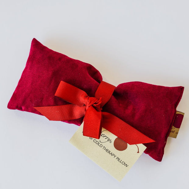 Hot Cherry Therapeutic Eye Pillow - Red