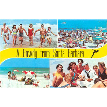 Howdy from Santa Barbara Note Cards Santa Barbara Note Cards - Found Image, The Santa Barbara Company - 2