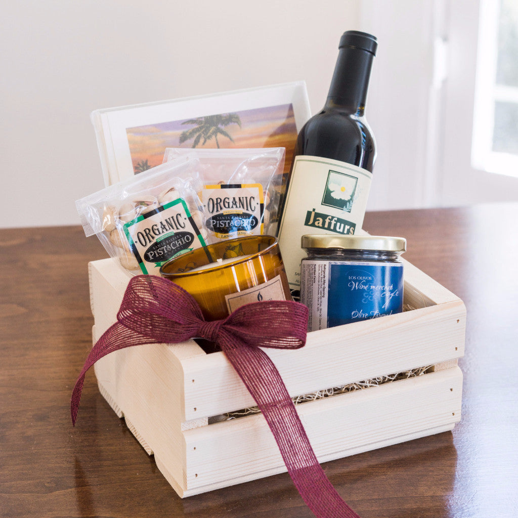 Figueroa & Olive Gift Crate Gifts - Assorted/Gifts, The Santa Barbara Company - 1