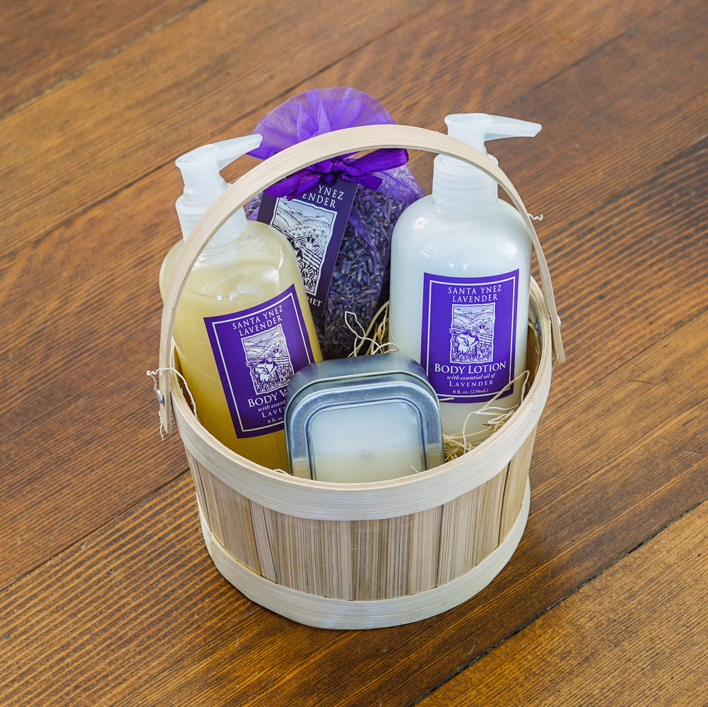 Luxurious Lavender Gift Basket Lavender - Assorted/Gifts, The Santa Barbara Company - 2