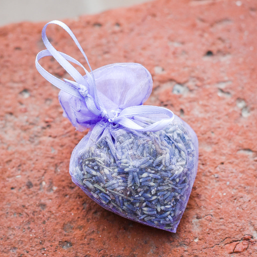 Heart Lavender Sachet Lavender - The Santa Barbara Company, The Santa Barbara Company - 1