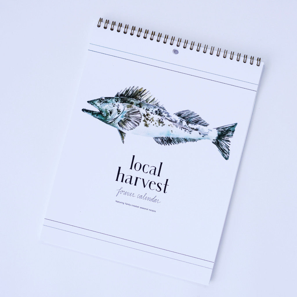 Local Harvest Forever Calendar Calendar - Book Publisher, The Santa Barbara Company - 1
