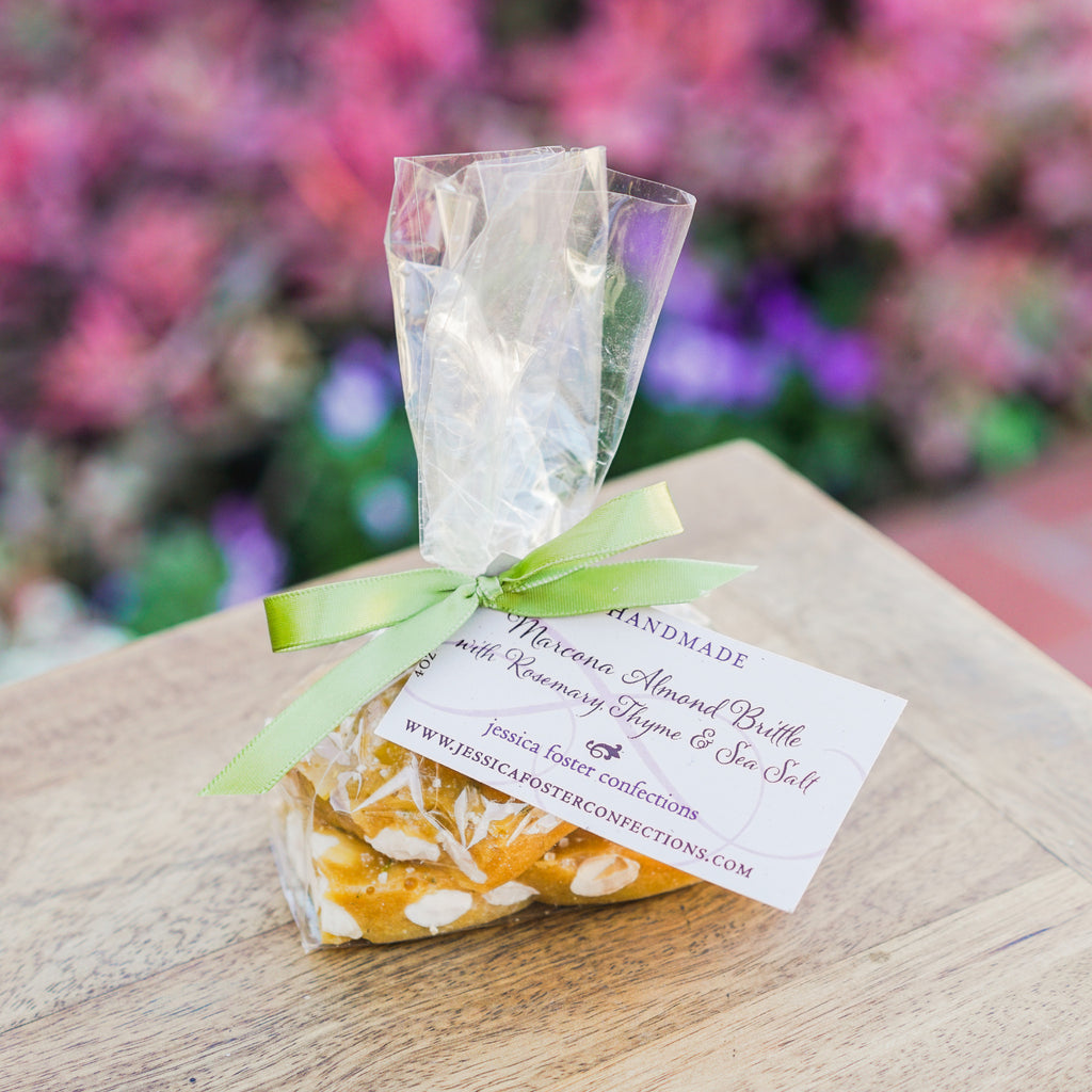 Marcona Almond Brittle Snacks and Candies - Jessica Foster Confections, The Santa Barbara Company
