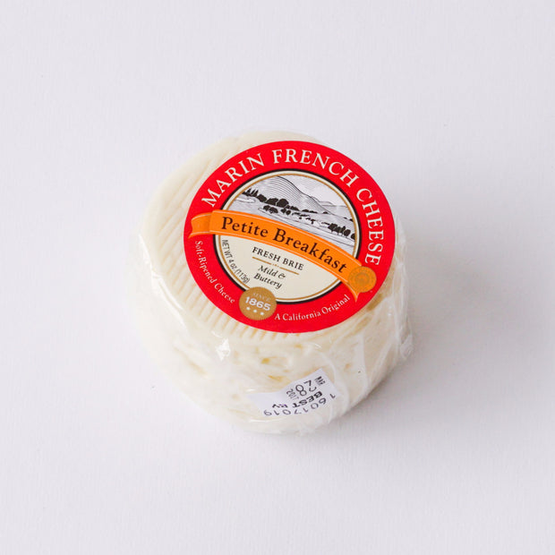 Marin French Petite Breakfast Brie - Local Delivery Only Cheese - Tomales Bay Foods, The Santa Barbara Company