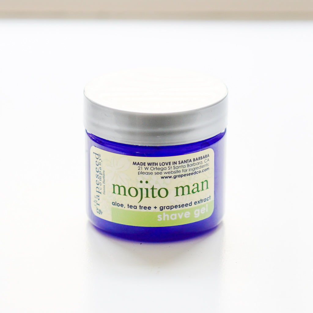 Mojito Man Mini Shave Gel The Grapeseed Company - The Grapeseed Company, The Santa Barbara Company