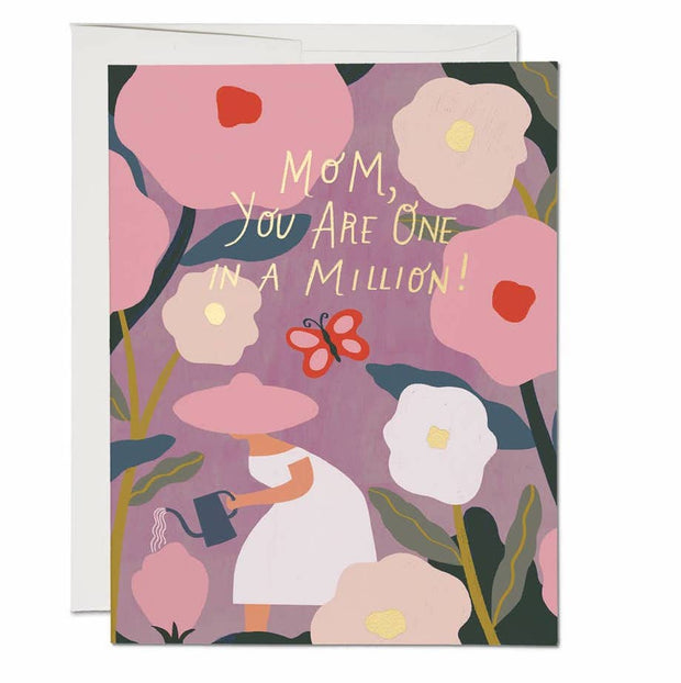 One in a Million Mom Note Card