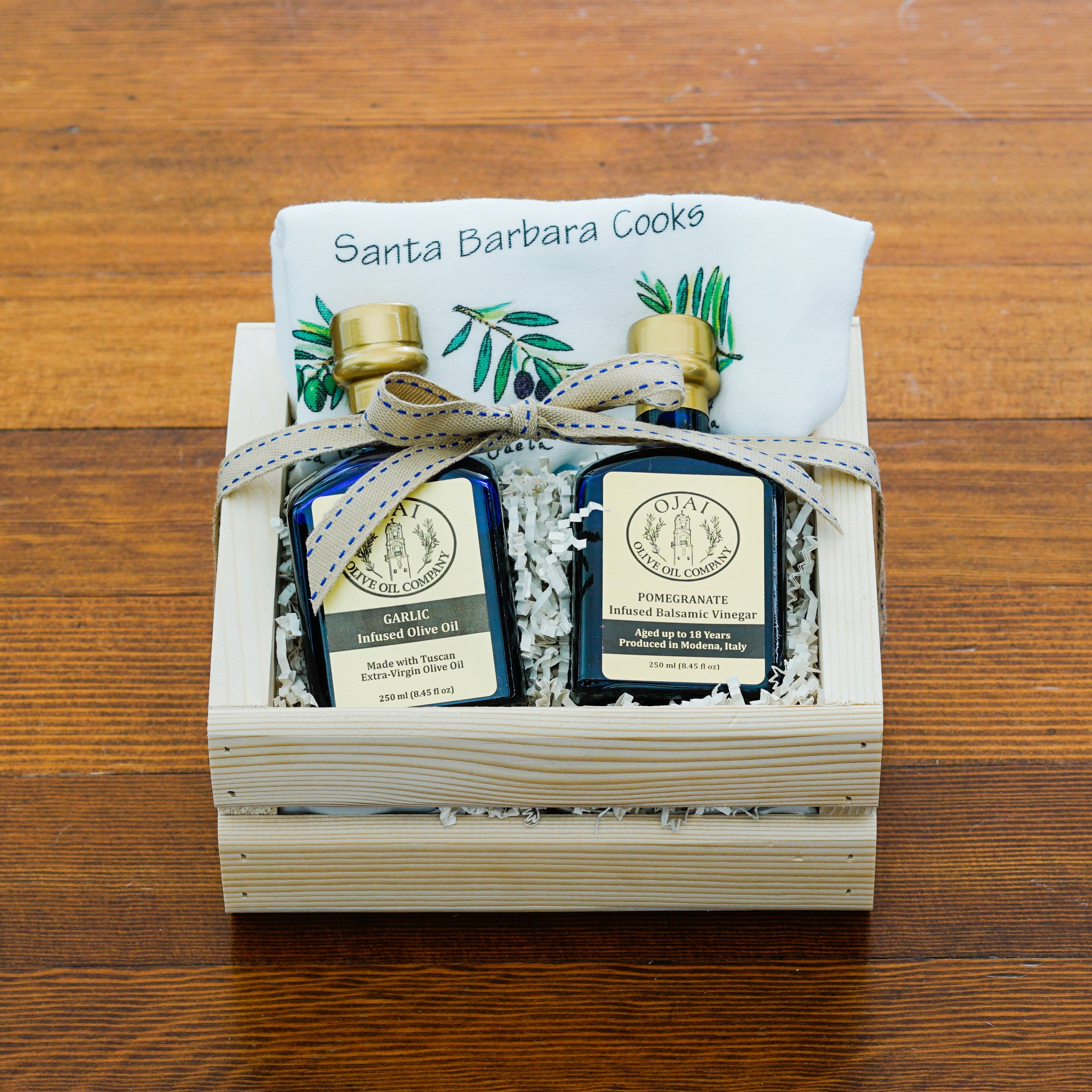 Gourmet Ojai Olive Oil Gift Crate Gift Sets and Boxes - Ojai Olive Oil, The ...
