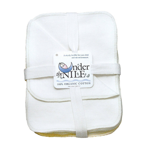 Organic Cotton Baby Wash Cloths