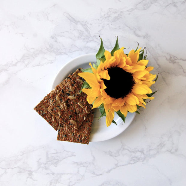 Organic Sunflower Flax Seed Crackers