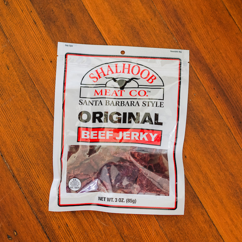 Original Beef Jerky Snacks - Shalhoob Meat Company, The Santa Barbara Company
