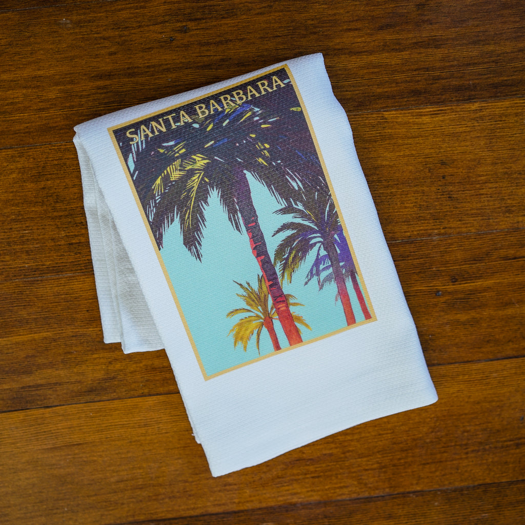 Palm of Santa Barbara Towel