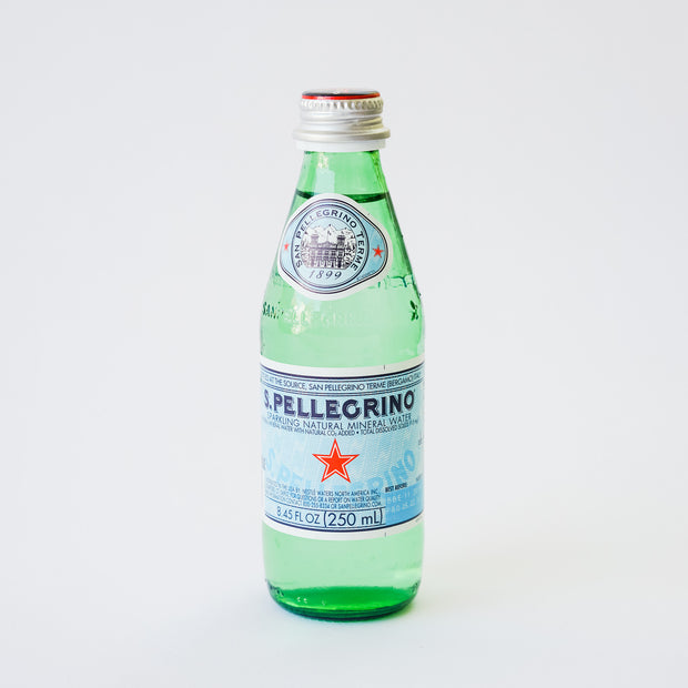 San Pellegrino Mini Glass Bottles