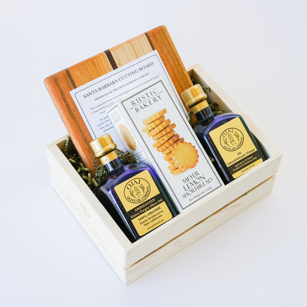 Perfect Ojai Olive Oil Gift Crate