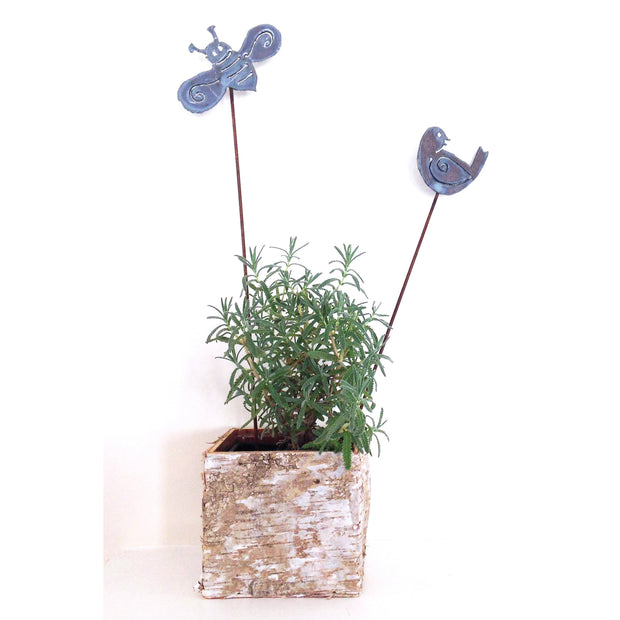 Bird and Bees Garden Stakes Sold Out - Barbs Art Metal, The Santa Barbara Company - 2