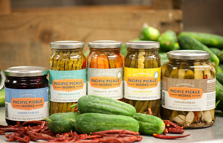 Asparagusto! Spicy Asparagus Pickles Pickles - Pacific Pickle Works, The Santa Barbara Company - 2