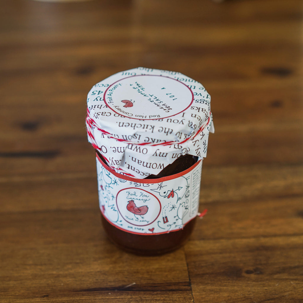 Apricot Vanilla Jam Spreads and Preserves - Red Hen Cannery, The Santa Barbara Company - 1