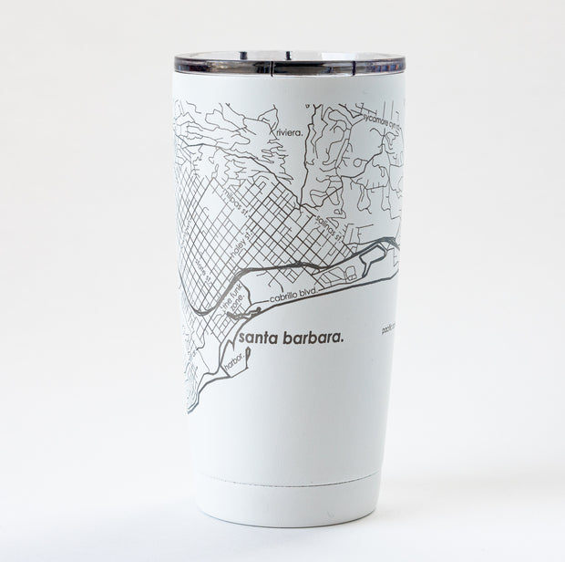 Map of Santa Barbara Insulated Tumbler