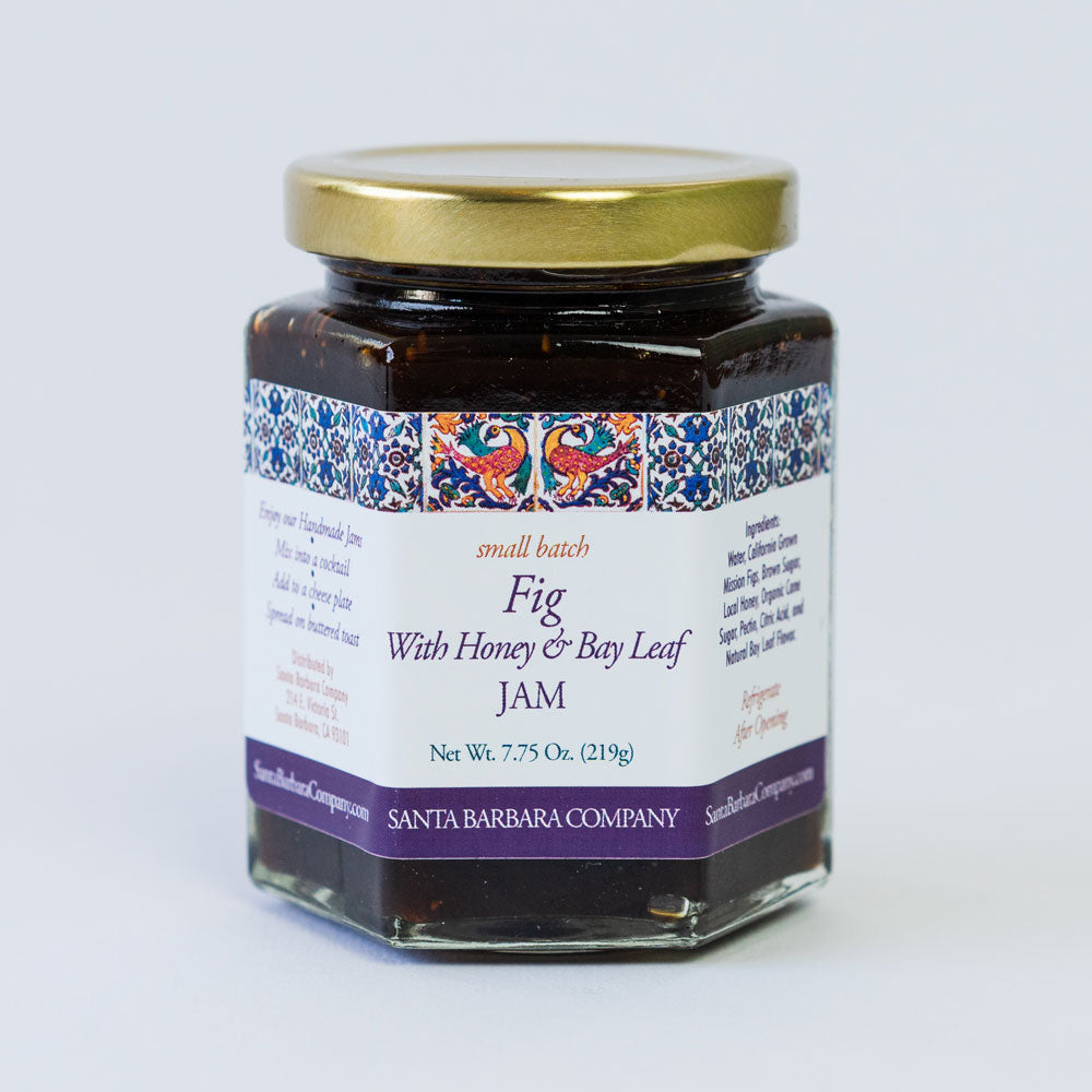 Fig Jam with Honey and Bay Leaf
