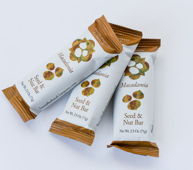 Macadamia Seed and Nut Bar