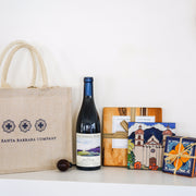 Santa Barbara Winery Pinot Noir Gift Tote Wine Gift Baskets - Assorted/Gifts, The Santa Barbara Company - 1