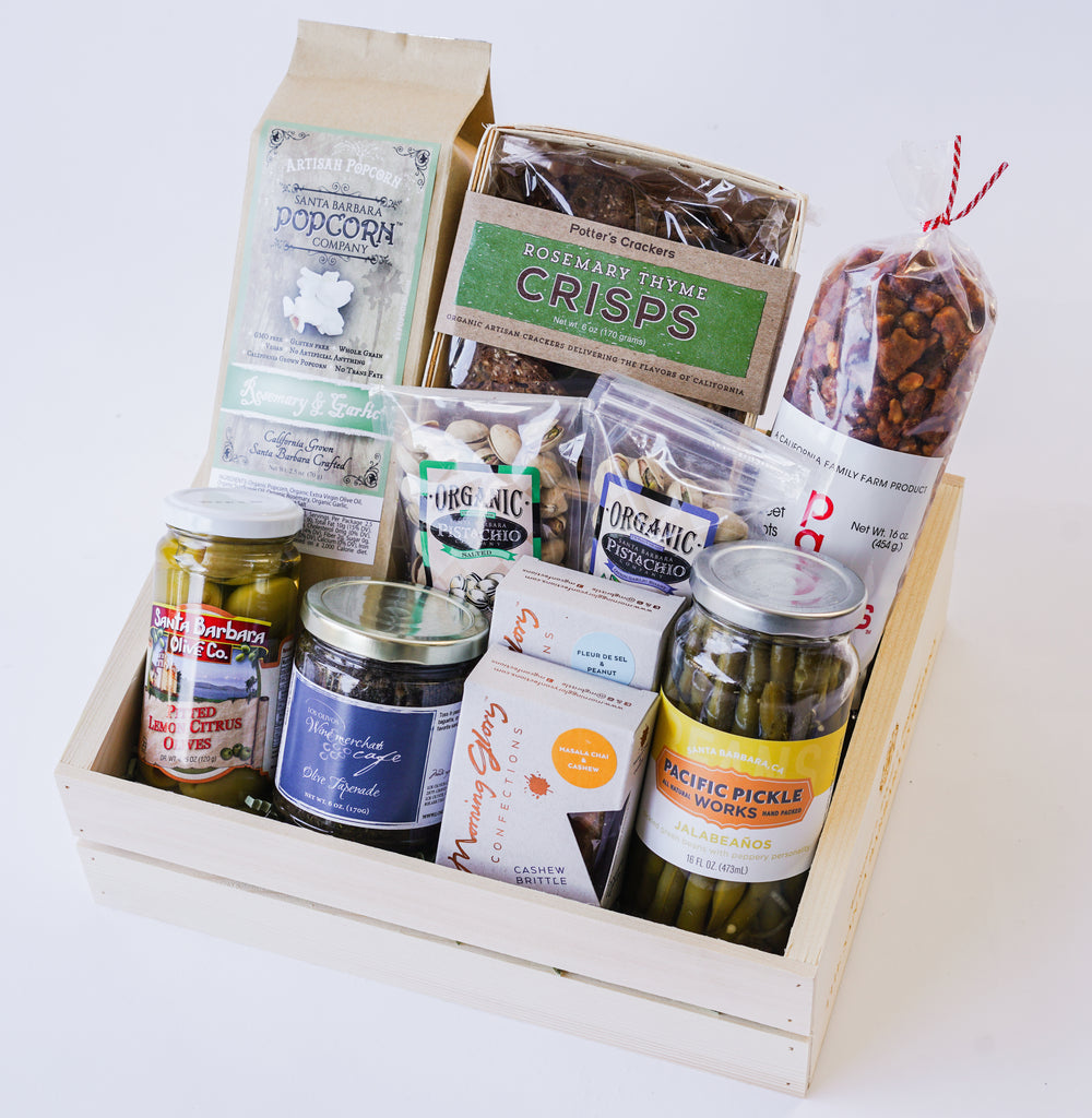 Snacks to Share Gift Box Gifts - Assorted/Gifts, The Santa Barbara Company