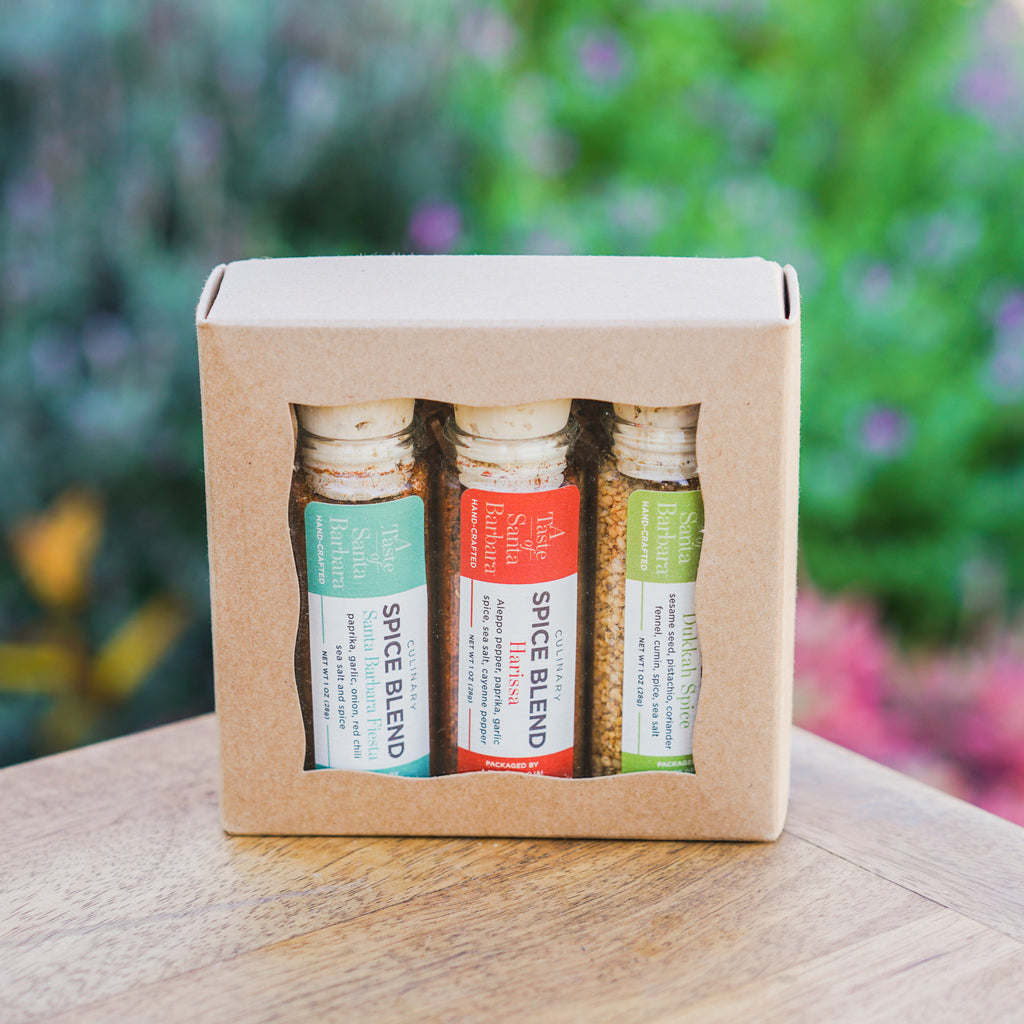 A Taste of Santa Barbara Spice Trio Culinary Salts and Herbs - Chef Robin, The Santa Barbara Company - 1