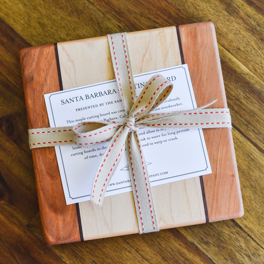 Cheese Board - Maple Square Cutting Boards - Santa Barbara Cutting Board Company, The Santa Barbara Company - 1