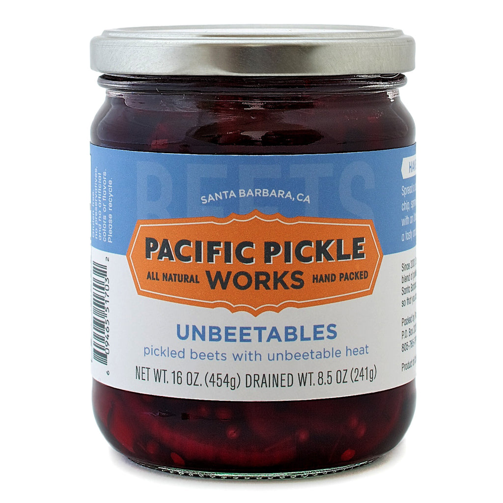Unbeetables - Spicy Beet Pickles Pickles - Pacific Pickle Works, The Santa Barbara Company