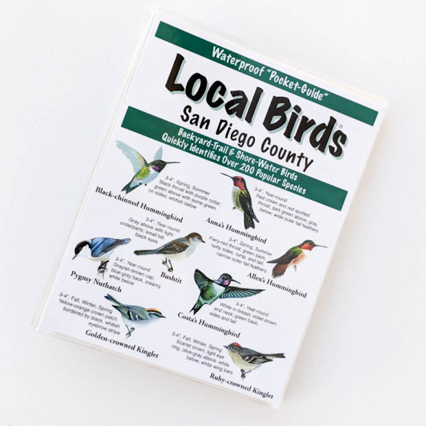 Local Birds Pocket-Guide: San Diego