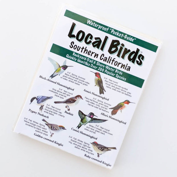 Local Birds Pocket-Guide: Southern California
